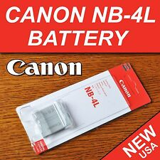 New NB-4L Battery for Canon PowerShot ELPH SD200, SD300, SD40, SD400, SD430