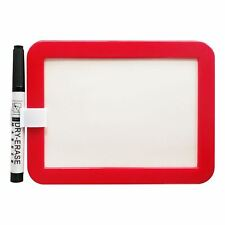 Small White Board And Marker With Magnetic Back For Home Office Notice Memo