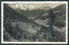 Bolzano Stelvio Solda Santa Gertrude Foto cartolina ZT9824