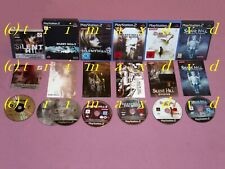 PS1/PS2 _ Silent Hill 1 & SH2 & SH3 & 4 The Room & Origins & Shattered Memories