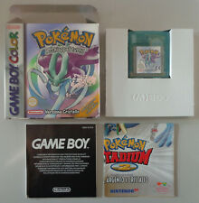 Console Nintendo Game Boy Color ITA Suicune Crystal   Pokemon Versione Cristallo