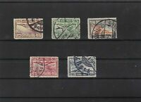 thailand 1925 air stamps ref 11548