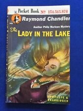 THE LADY IN THE LAKE - FIRST POCKET BOOKS PAPERBACK EDITION BY RAYMOND CHANDLER