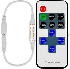Wireless RF Remote Controller Dimmer Control For Single Color LED 12v