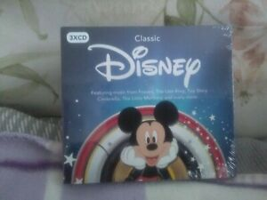 Classic Disney - Various Artists (2017) 3xCds- Frozen Etc.- New -free UK postage