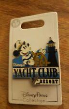 Walt Disney World Parks Pin 2018 Yacht Club Captain Mickey Mouse Lighthouse Ship
