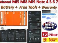 OEM High Capacity Battery For Xiaomi Mi 5 Mi 8 Mi 9 SE Redmi Note 4x 7 Pofofone