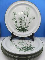 Noritake Stoneware Mountain Flowers Dinner Plates Bundle of 4