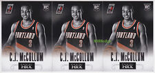 (3) 2013-14 PANINI PRIZM HRX ROOKIE: C.J. McCOLLUM #5 BLAZERS RC MOST IMPROVED