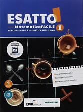 9788851157647 Esatto! Ediz. tematica. Matematica facile. BES. Pe...one online: 1