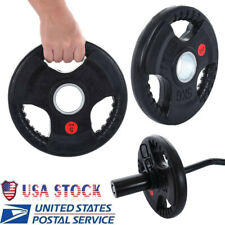 """11LBS Steel Dumbbell Plates Standard 2"""" Weight For Gym Home Body Workout Hot"""