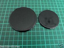 Burner Caps 1x 55mm & 1 x 70mm  AEG-ELECTROLUX-ZANUSSI