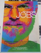 Ashton Kitcher Steve Jobs Original 11x17 Movie Poster Apple iPhone Josh Gad 2013