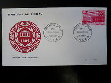 SENEGAL AERIEN 304   PREMIER JOUR FDC      UNION INTERPARLEMENTAIRE   30F   1968