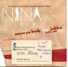 (335H) Nina Sky, Move Ya Body ft Jabba - DJ CD