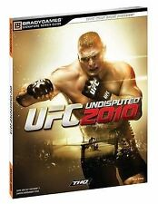 UFC Undisputed 2010 Signature Series Strategy Guide (Brady Games-ExLibrary