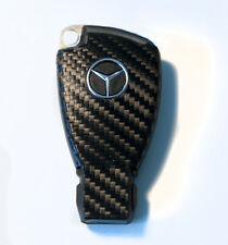 Mercedes SL W203 W210 W209 CLK CLS AMG R230 carbon fiber look key sticker