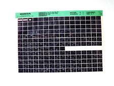 Honda CBR 600_1997 Microfilm Microfich Teilekatalog Ersatzteil Fiche Parts List