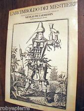 L'arcimboldo dei mestieri visioni fantastiche nicolas de larmessin Mazzotta 1979