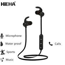 Bluetooth Wireless Sports Headset Headphone Earphones Mic For iPhone 6/6S/7 Plus