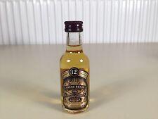 Mignonnette mini bottle non ouverte whisky chivas 12 ans d'ages