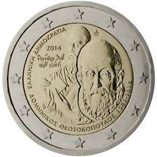 Greece 2014 - 2 Euro Comm - 400yrs since death of Domenikos Theotokopoulos (UNC)