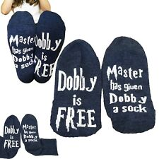 Harry Potter fan socks Master has given Dobby a sock Dobby is free gift present