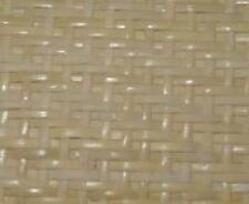 """Fine strand herringbone bleached pre-woven cane webbing 24"""" wide. chair seat"""
