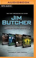 Jim Butcher: Dresden Files, Books 1-4: Storm Front, Fool Moon, Grave Peril, Summ