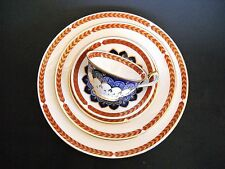 Royal Crown Derby 5 Piece Setting QUAIL #A1316 Dinner Salad Butter Cup Saucer