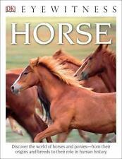 DK Eyewitness Books: Horse by Juliet Clutton-Brock (2016, PB), VGUC