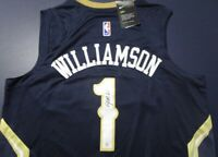 Zion Williamson 🔥🏀 signed New Orleans Pelicans Nike Jersey. Authenticated
