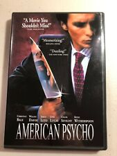 American Psycho Dvd Widescreen
