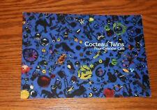 Cocteau Twins Four-Calendar Café Postcard 1993 Promo 7x5 Rare