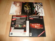 SILENT HILL COLLECTION DE KONAMI PARA LA SONY PS2 USADO COMPLETO EN BUEN ESTADO