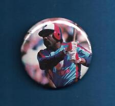 """Andre Dawson Montreal Expos 2010 Hall of Fame 2 1/8"""" Pinback Baseball Button"""