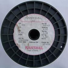 Kanthal D 0,45mm 8,61 Ω/m, Original Widerstandsdraht Heizdraht, 4-20 Meter