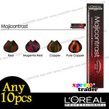 L'oreal Majicontrast Red Permanent Colour Hair Dye 50ml 5pcs