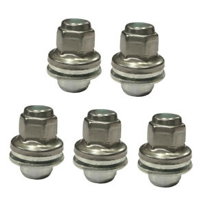 5 Pieces Alloy Hex Wheel Lug Nuts fit For Jaguar   all S-Type all XJ8 XJR