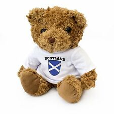NEW - Scotland Flag Teddy Bear - Scottish Fan Gift Present Ecosse