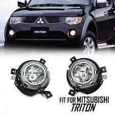 Clear Len Fog Light Spotlight Lamp UTE Mitsubishi Triton L200 05 06 07 08