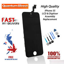 BLACK Replacement LCD & Digitiser Touch Screen Assembly Repair FOR iPhone 5S NEW