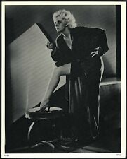 """JEAN HARLOW"" SHOWING BEAUTIFUL SEXY LEGS~8x10 GLOSSY MOVIE STILL PORTRAIT PHOTO"