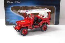 1:18 Solido JEEP Willys Pompiers Feuerwehr 1942 NEW bei PREMIUM-MODELCARS