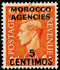 Sg182, 5c on ½d pale orange, LH MINT.