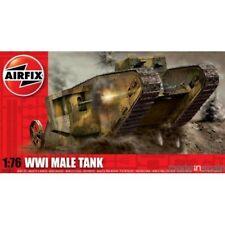 Maqueta tanque WWI Male Tank Mk.I Airfix 1:76 NUEVO A ESTRENAR