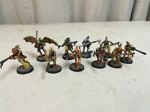 Painted Kroot Carnivore Squad Warhammer 40k 10 Miniatures Lot B