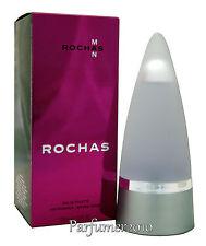 Rochas Man Men  100ml EDT Eau de Toilette Spray Neu&Originalverpackt