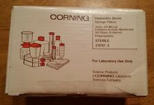 Corning Disposable Sterile Syringe Filters 3mm, 0.20 micron, Nylon, 50ct