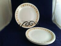 "6 Corelle Livingware Butterfly Gold 8 1/2"" Salad Plate VERY Good Condition"